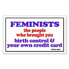 Fem credit Rectangle Decal