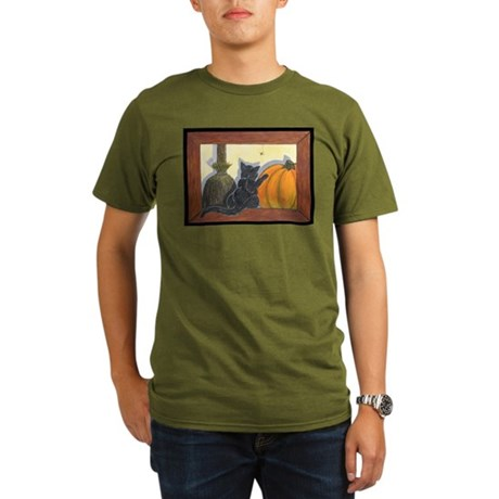 Halloween Cat - Just the Art, Organic Men's T-Shir