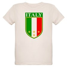 Italy Crest with Stars T-Shirt