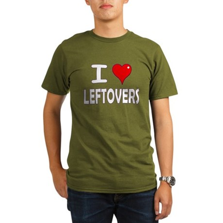 Thanksgiving Leftovers Organic Men's T-Shirt (dark
