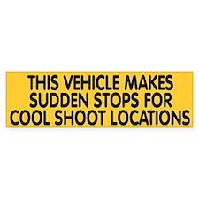 Sudden Stops Bumper Car Sticker