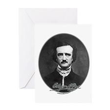 Edgar Allan Poe Greeting Card