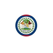Flag of Belize Mini Button (10 pack)