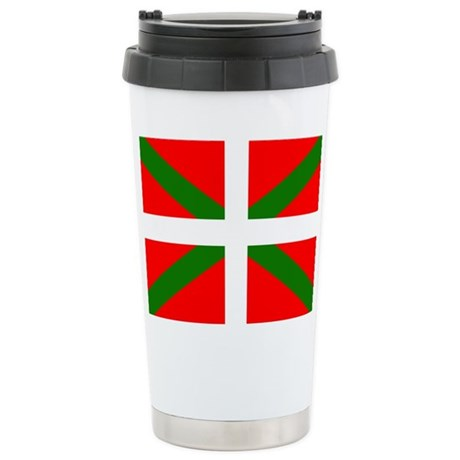 Ikurrina Ceramic Travel Mug