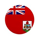 Flag of Bermuda 3.5&amp;quot; Button