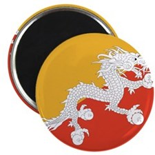 "Flag of Bhutan 2.25"" Magnet (100 pack)"