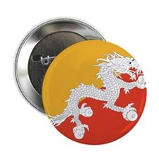 "Flag of Bhutan 2.25"" Button"