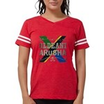 Central African Republic Organic Men's Fitted T-Sh