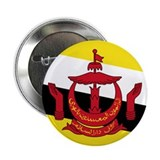 "Flag of Brunei 2.25"" Button"