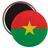 Flag of Burkina Faso Magnet