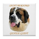SAINT BERNARD - GENTLE GIANT Tile Coaster