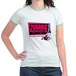 Zombie Pinups Jr. Ringer T-Shirt