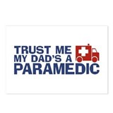 Trust Me My Dad's a Paramedic Postcards (Package o