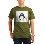 Cool penguin Organic Men's T-Shirt (dark)