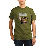 I Hear Ya Organic Men's T-Shirt (dark)