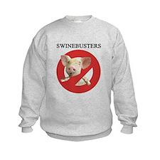 Unique Swine flu Sweatshirt