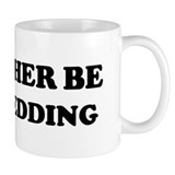 Rather be Dog Sledding Mug