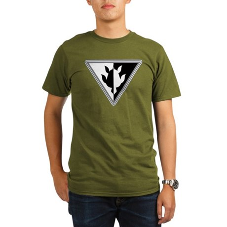 Triangle Turtle Organic Men's T-Shirt (dark)