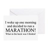 My feet totally hurt! Greeting Cards (Pk of 20)