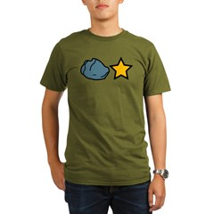 Rock Star Organic Men's T-Shirt (dark)