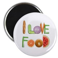 I Love Food magnet