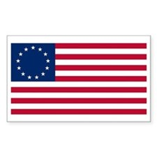 13 Stars Betsy Ross Flag Rectangle Decal
