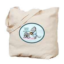 Rat Scientist Tote Bag