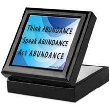 Think Abundance Keepsake Box