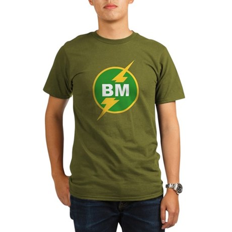BM Best Man Organic Mens Dark T-Shirt
