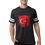 Abstract Turtle Organic Kids T-Shirt (dark)