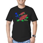 See? Turtles! Men's Fitted T-Shirt (dark)
