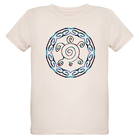 Spiral Turtles Organic Kids T-Shirt
