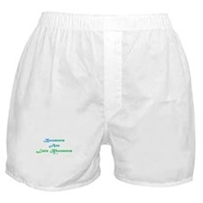Boomers Are Late Bloomers Boxer Shorts