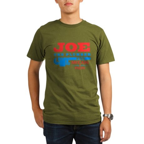 Joe the Plumber for McCain Organic Mens Dark T-Shirt