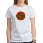 Rasta Leaf Women's T-Shirt