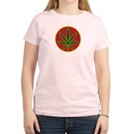 Rasta Leaf Women's Light T-Shirt