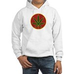 Rasta Leaf Hooded Sweatshirt