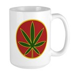 Rasta Leaf Large Mug