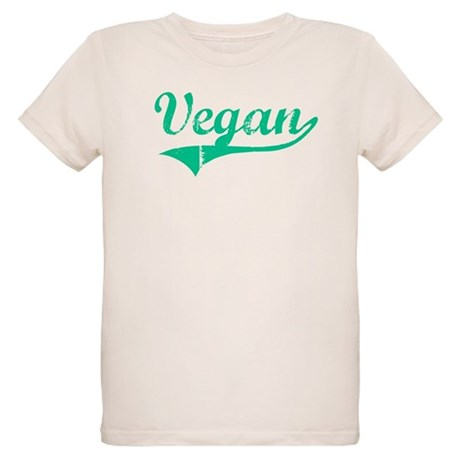 Team Vegan Organic Kids T-Shirt