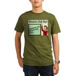 Grammar Lady is Watching You Organic Men's T-Shirt
