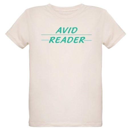 Avid Reader Organic Kids T-Shirt
