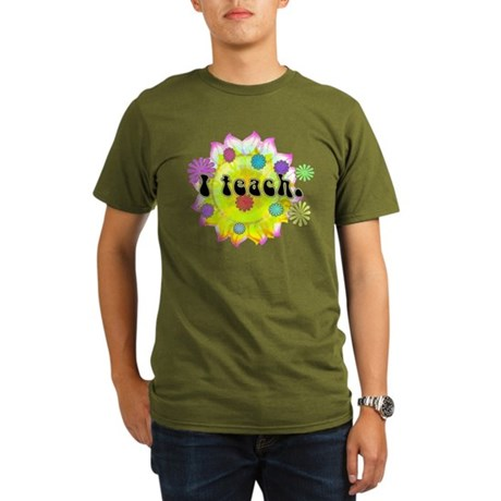 I Teach Organic Men's T-Shirt (dark)