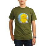 Whee! Chick v2.0 Organic Men's T-Shirt (dark)
