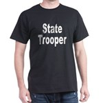 State Trooper Black T-Shirt