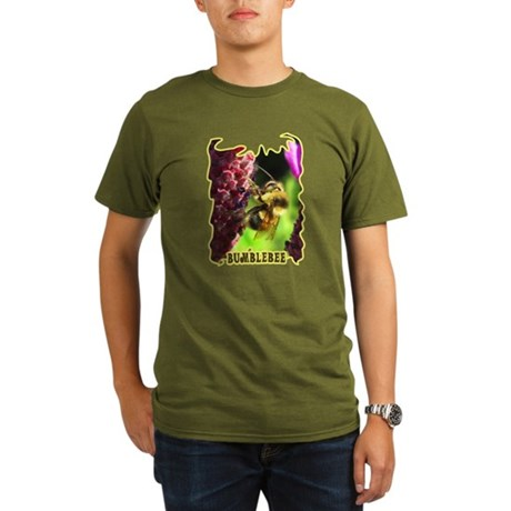 Bumblebee Organic Men's T-Shirt (dark)