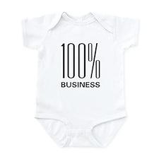 100 Percent Business Infant Bodysuit