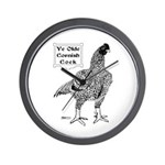 Ye Olde Cornish Cock Wall Clock