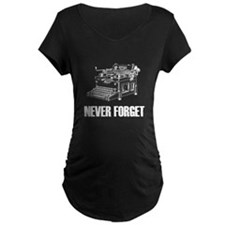 Never Forget Typewriters T-Shirt