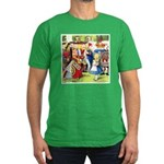 ALICE & THE QUEEN OF HEARTS Men's Fitted T-Shirt (