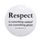 Respect Ornament (Round)